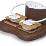 This Microwavable S'Mores Maker helps you get in the Fall spirit