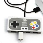 Super Retro Gamer 4-port USB hub rolls back the years