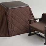 The Kotatsu Heater for One will help you stay toasty while working