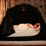 The Room in Room will let you camp at home and cut down on bills