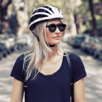FEND is a Collapsible Bike Helmet that folds to a third of its size