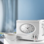 This Swan Teasmade and Alarm Clock wakes you up with a hot cuppa
