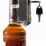 This Bottle Lock makes sure the holidays don't get too merry