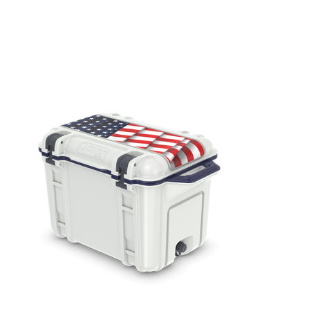 OtterBox_Venture_Americana_Cooler  - OtterBox Venture Americana Cooler - OtterBox Venture Americana delivers a cooler that is spot on this summer