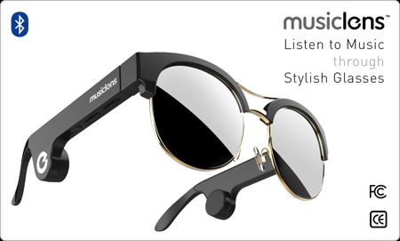 - musiclens - MusicLens is a pair of audio glasses » Coolest Gadgets