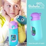 Gululu Go, the interactive water bottle for kids