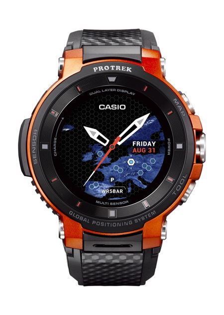 - casio protrek wsd 30 - Casio Pro Trek WSD-F30 is better than ever before » Coolest Gadgets