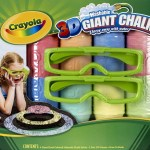 The 3D Giant Chalk from Crayola