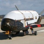 X-37B automated spaceship returns to Earth after 8 month first flight