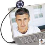 The Self Illuminating Web Camera