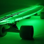 Flexdex illuminated skateboards