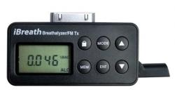 iBreath Breathalyzer & FM Transmitter