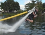 Water Powered JetLev-Flyer: A Monster of a Hosepipe!