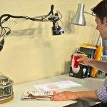 LuminAR robotic lamp designed by MIT student