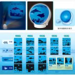 Seiko Ocean Theater Alarm Clock lets you sleep with the fishes
