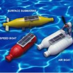 The Solar Powered Bottle Boat Kit