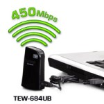 TRENDnet 450 Mbps Dual Band Wireless N USB Adapter