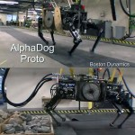 Boston Dynamics AlphaDog is great robotic mule