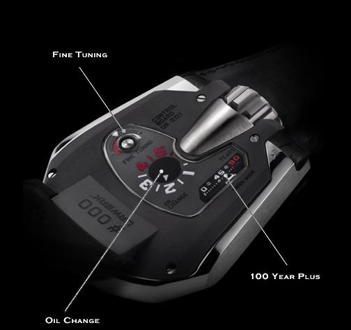 Urwerk 210 backside