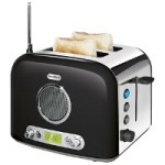 Breville Radio Toaster offers hot music in the morning