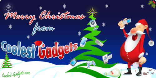 Merry Christmas from Coolest Gadgets