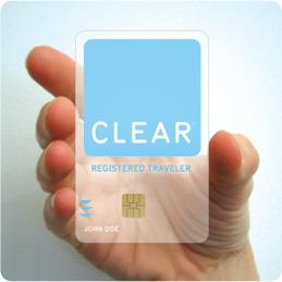 Clear card