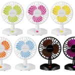 Colorful Desktop USB Fans