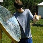 Check out this R5800 Solar Death Ray, built by 19-year-old Eric Jacqmain