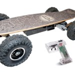 What the Fiik?  It's a motorized skateboard