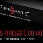 Firegate all-in-one firewall with disaster recovery capabilities