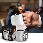 The Fisticup - Put a Fist to Your Coffee