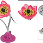 Lotus USB Webcam with LED light