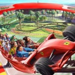 Formula Rossa Roller Coaster at Ferrari World