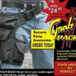Grab it Pack to holster your gadgets