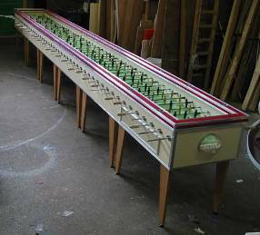World's Biggest Foosball Table