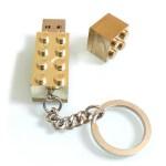 Gold Lego Memory Stick