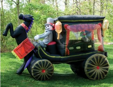 Inflatble Hearse