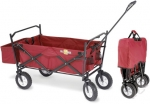 Heavy Duty Foldaway Utility Cart Totes Your Tools, Folds To Nothing