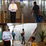 Hologram alerts passengers at Paris' Orly Airport