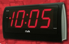 iTalk Clock Web Page