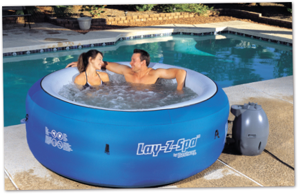LayZSpa Portable Hot Tub