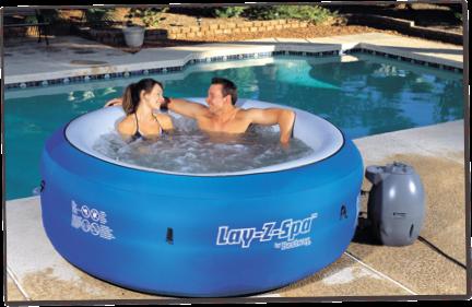 LayZSpa Portable Hot Tub