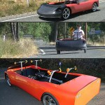 HumanCar can go 60 mph with just human power