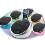 iHome iA17 Color Changing Stereo FM Alarm Clock Radio for iDevices