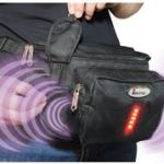 The iSafe Waist Pack has a personal alarm