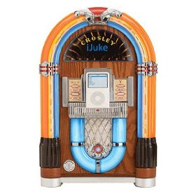 Crosley iJuke Jukebox With iPod Dock