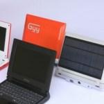 iUnika GYY Solar-powered Notebook