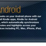 Amazon announces Kindle for Android