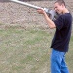Golf Ball Launcher fires Titleists