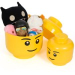 Lego Storage Heads for some fun storage moments